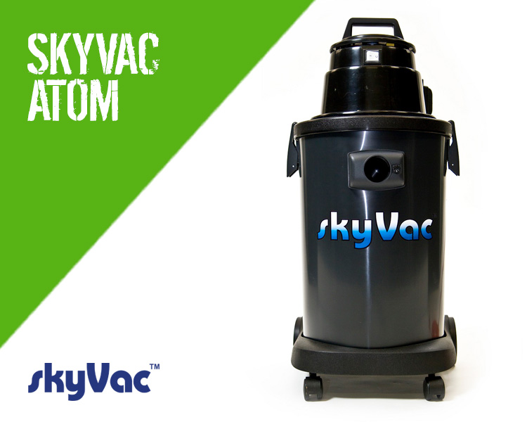Skyvac ATOM Gutter Cleaning Vacuum System