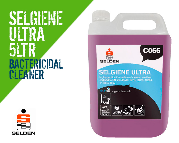 Selden Selgiene Ultra Disinfectant Bacterial Cleaner Scotland