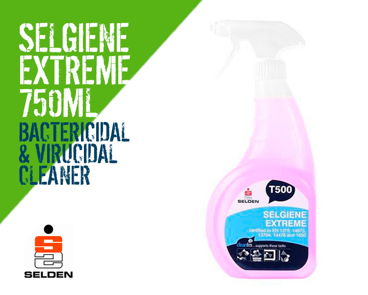 Selden Selgiene Extreme Disinfectant Bacterial and Virucidal Cleaner Scotland