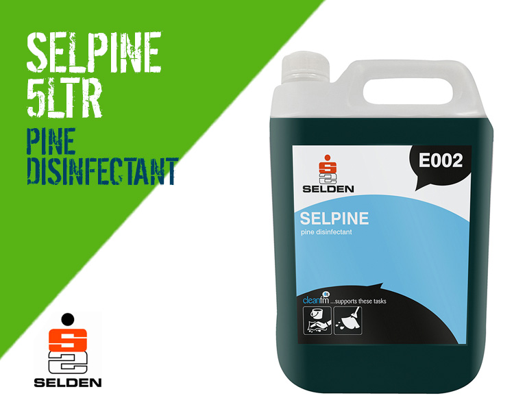 Selden Selpine Powerful Pine Disinfectant Cleaner Scotland