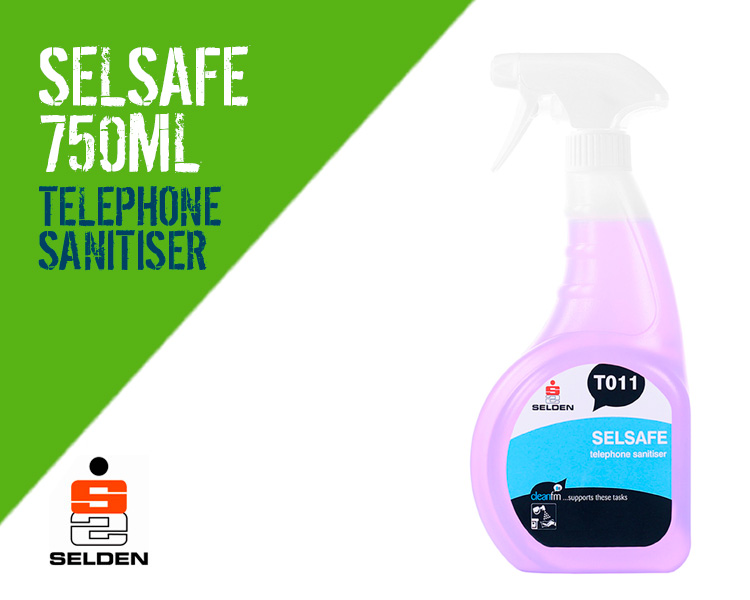 Selden Selsafe Telephone Sanitising Cleaner Scotland