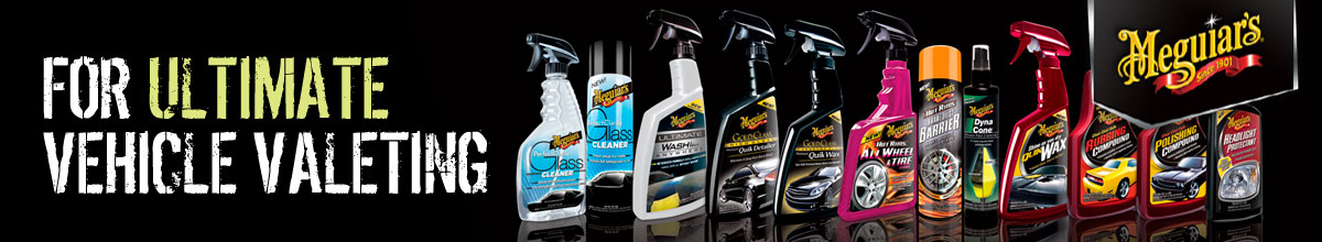 Meguiars Vehicle Valeting Products Scotland UK