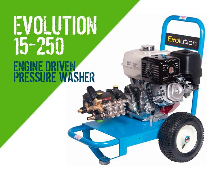Evolution 15 250 Engine Driven Pressure Washer