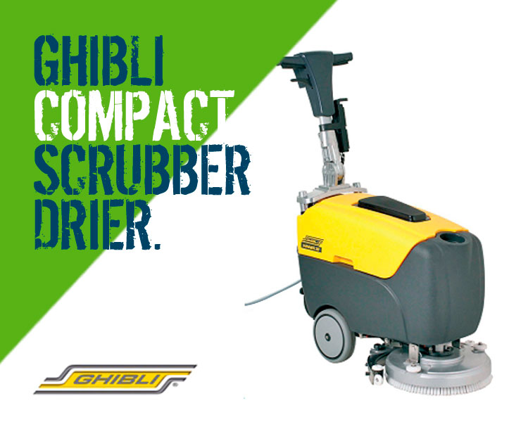 Ghibli Winner 38E Compact Scrubber Dryer