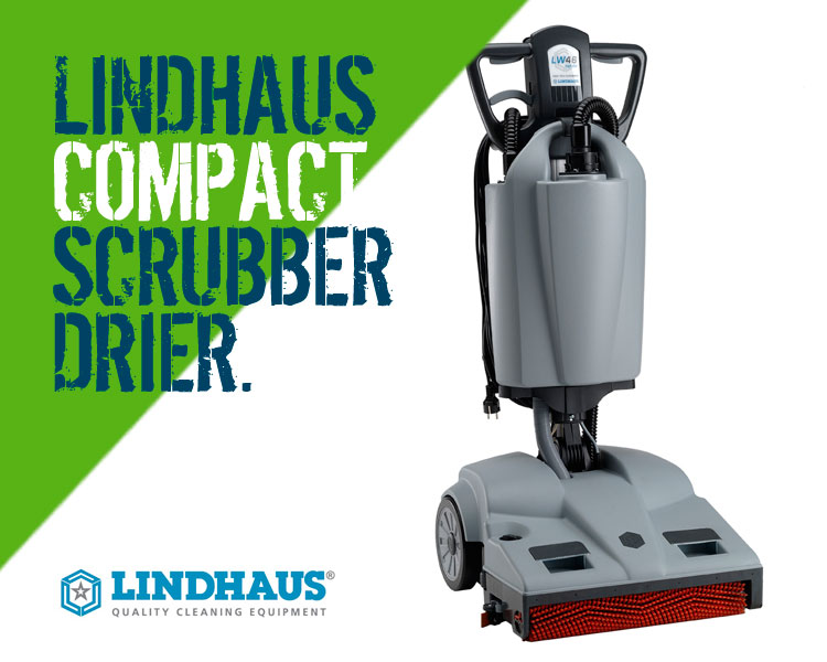 Lindhaus LW46 Hybrid Compact Scrubber Dryer