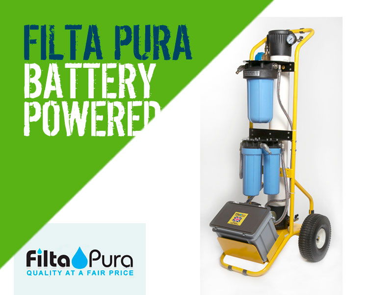 Filta Pura 5 Battery Powered