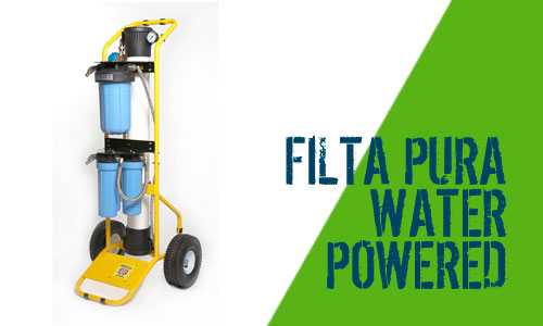 Filta Pura 5 Water Powered