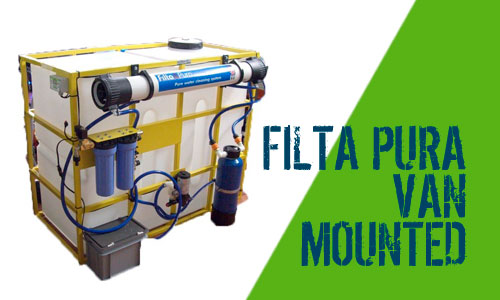 Filta Pura Van Mounted Window Cleaner