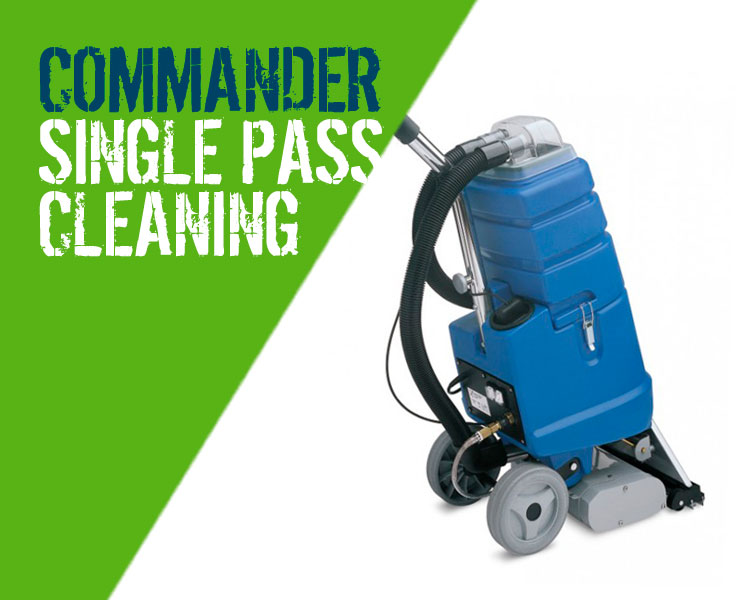 Floorcare Commander Carpet & Upholstery Cleaning Machine