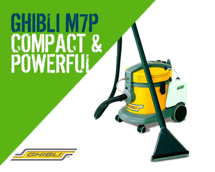 Floorcare Ghibli M7P Carpet & Upholstery Cleaning Machine