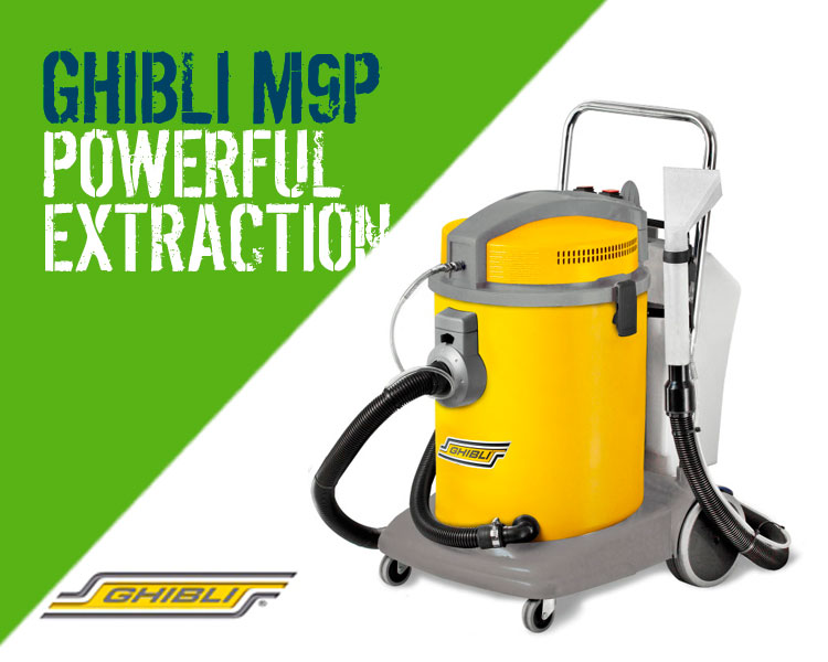 Floorcare Ghibli M9P Carpet & Upholstery Cleaning Machine