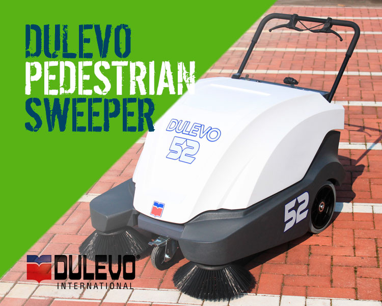 Dulevo 52 Wave & 74 Wave Manual Sweepers Range