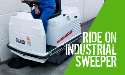 Dulevo 75EH & 75SH Ride-On Sweeper Range