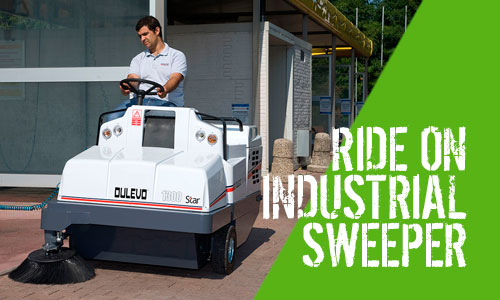 Dulevo 1100 & 1300 Ride-On Sweeper Range
