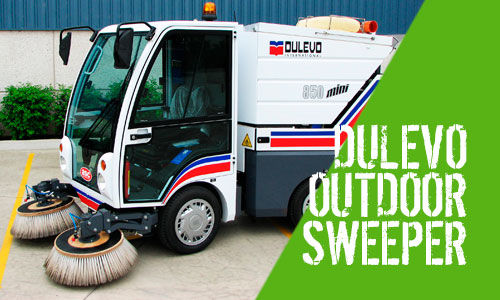 Dulevo 850 Mini Outdoor Sweeper