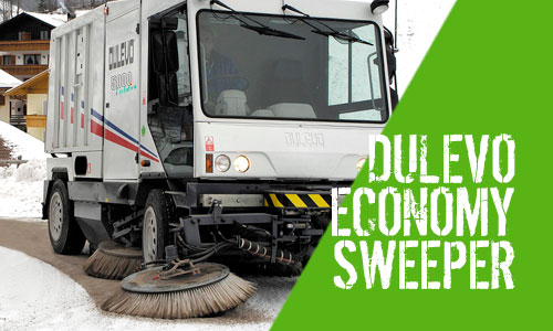 Dulevo 5000 Evolution Euro 5 Outdoor Sweeper