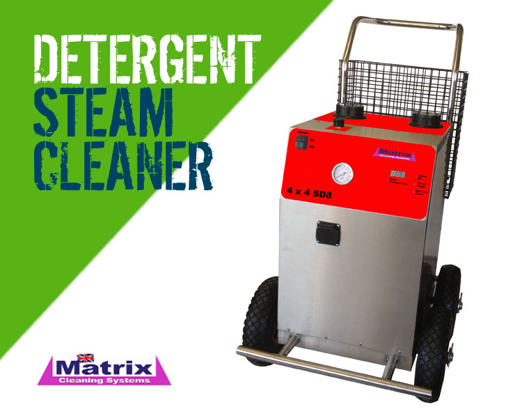 Matrix 4x4 SD8 Steam Cleaner with Detergent Facility