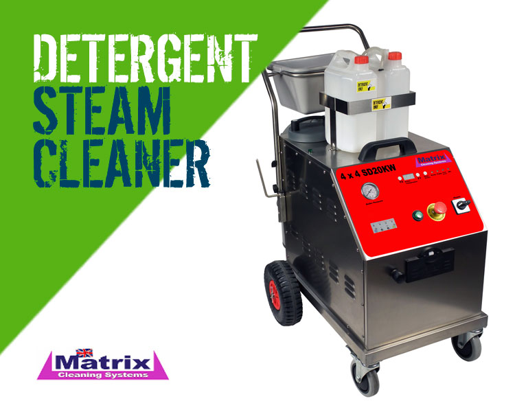 Matrix 4x4 SD5KW SD10KW SD20KW Steam Cleaner with Detergent & Vacuum Facility