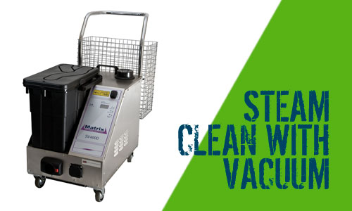 Matrix SV4000 Steam Cleaner with Vacuum