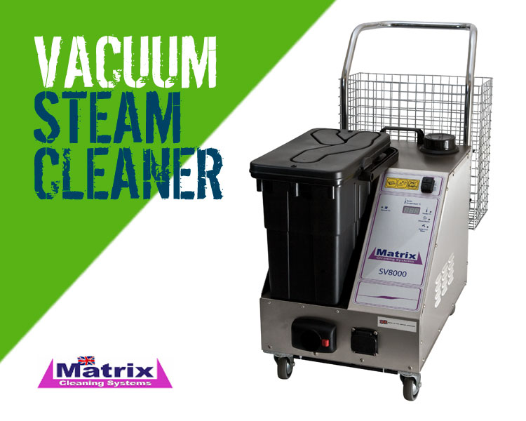 Matrix SV8000 Steam Cleaner with Vacuum
