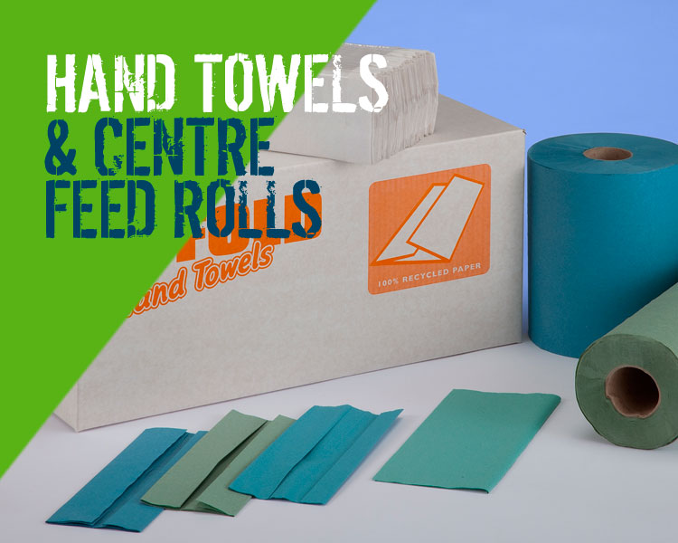 Hand Towels & Centrefeed Rolls from Capital Power Clean Scotland
