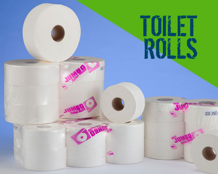Commercial Toilet Rolls from Capital Power Clean Scotland