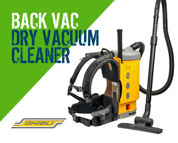 Ghibli T1 Back Pack Vacuum Cleaner Scotland