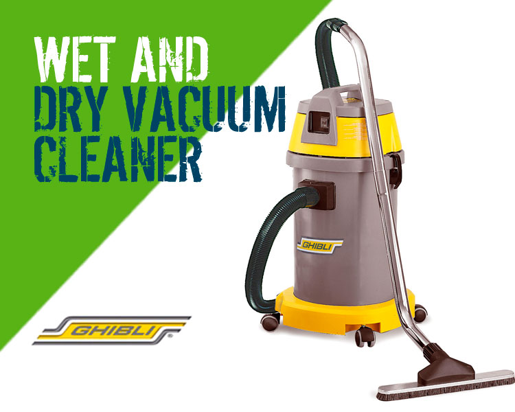 Ghibli AS27 Wet & Dry Vacuum Cleaner Scotland