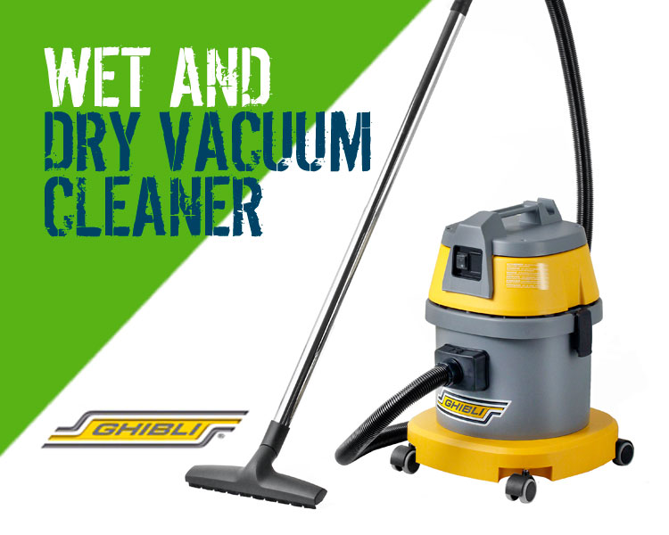 Ghibli ASL10 Wet & Dry Vacuum Cleaner Scotland