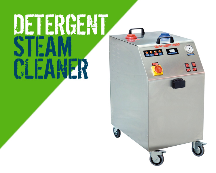 STi Gaiser 18000 Steam Cleaner with Detergent & Vacuum Facility
