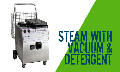 Matrix SDV4500 Steam Cleaner with Vacuum & Detergent