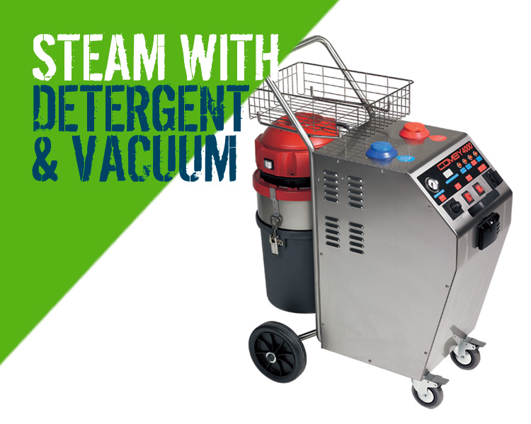 Sti Comby 4000 Steam Cleaner with Detergent & Vacuum Scotland