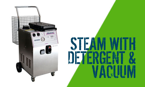 Matrix SDV8000 Steam Cleaner with Vacuum & Detergent Scotland
