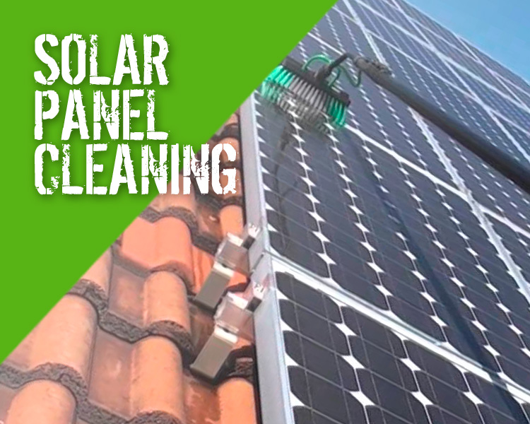 Solar Panel Cleaning Solutions Products