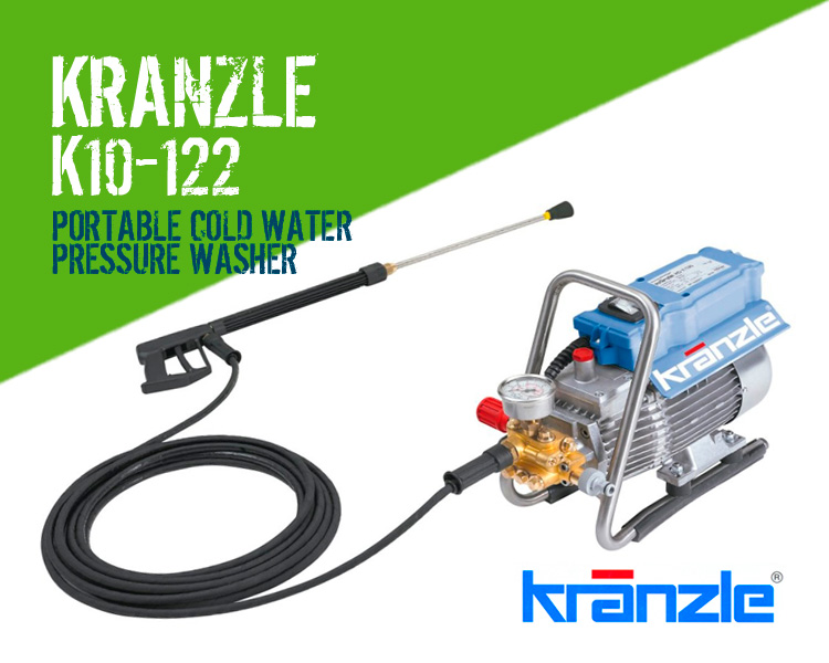 Kranzle K10 122 Auto Stop Portable Cold Water Pressure Washer