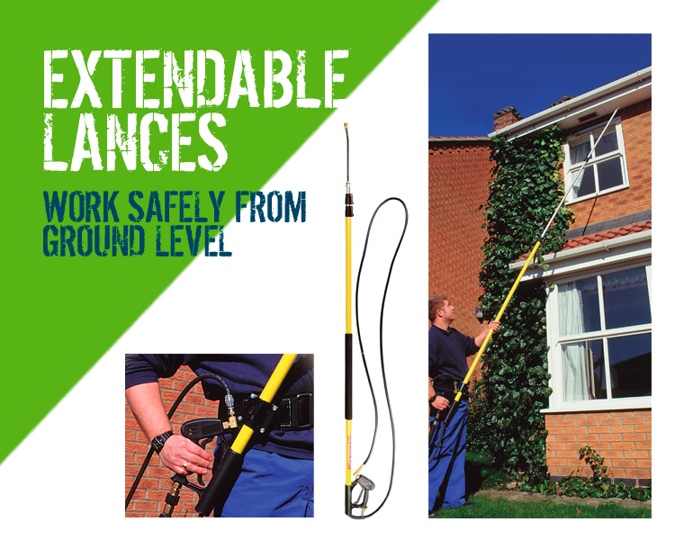 Extendable Pressure Washer Lances Scotland