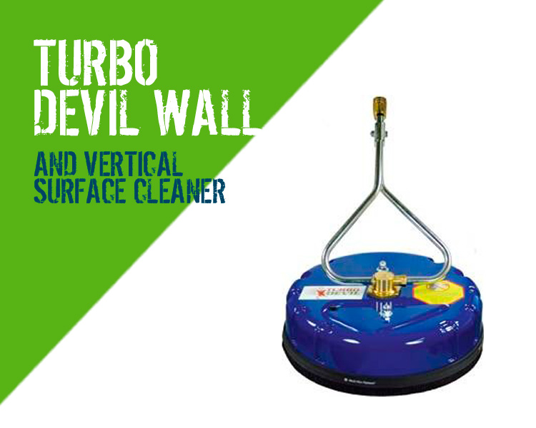 Turbo Devil Wall Vertical Surface Pressure Washer Cleaner