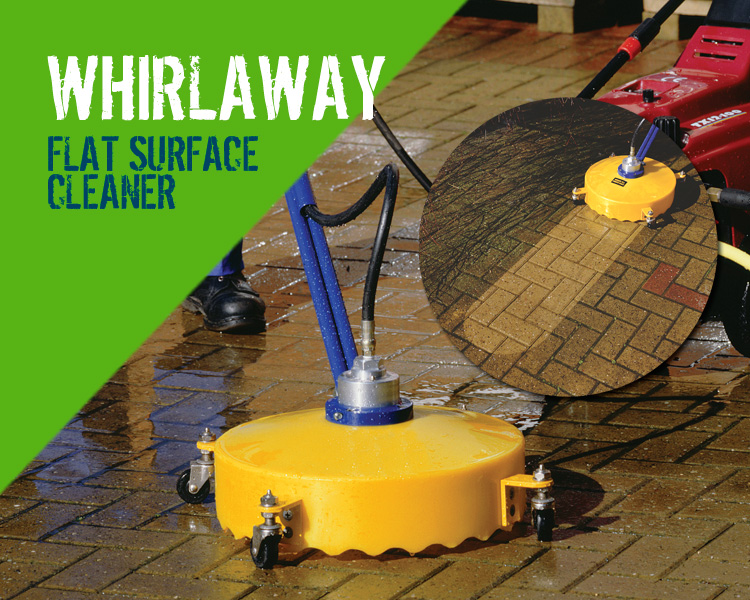 Whirlaway Flat Surface Pressure Washer Cleaner Scotland