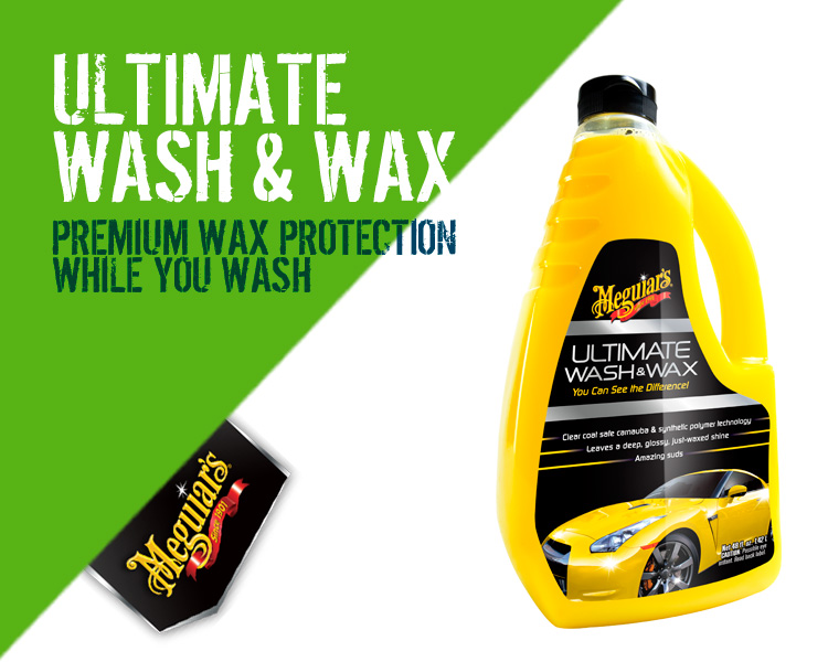 Meguiars Ultimate Wash and Wax - G17748EU