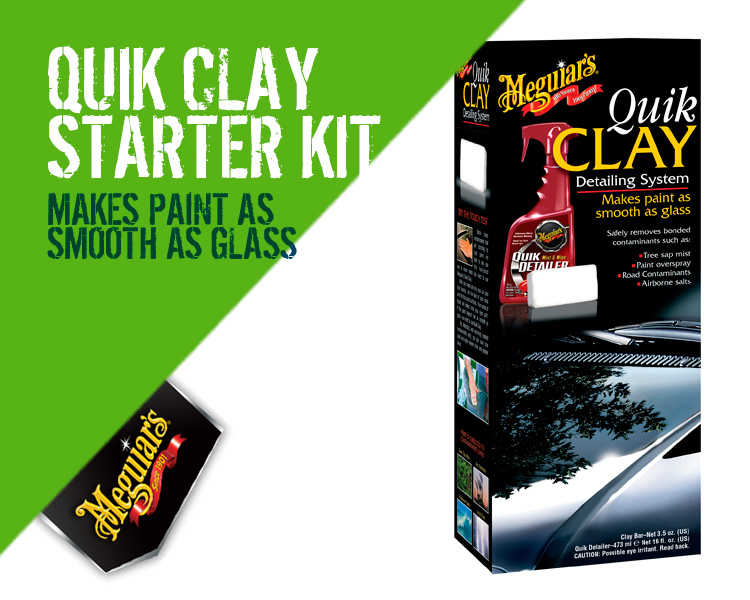 Meguiars Quick Clay Starter Kit G1116EU
