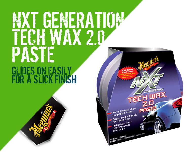 Meguiars NXT Generation Tech Wax 2.0 Paste G12711