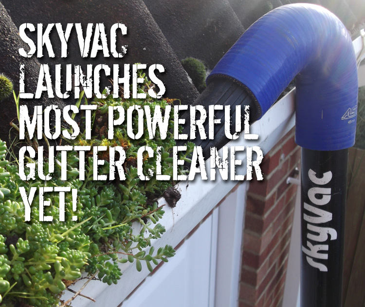 SkyVac Powerful Gutters Cleaning Machine