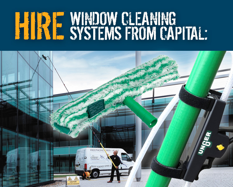 Hire Window Cleaning Equipment from Capital Power Clean