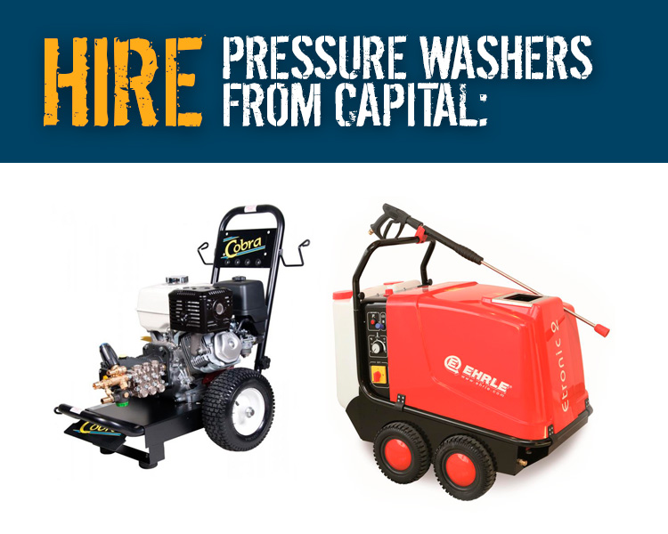 Hire Pressure Washers from Capital Power Clean