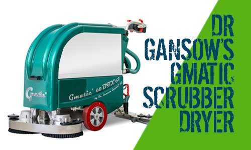 Dr Gansow Gmatic Scrubber Dryers 60BTX67