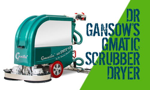 Dr Gansow Gmatic Scrubber Dryers 60BTX73