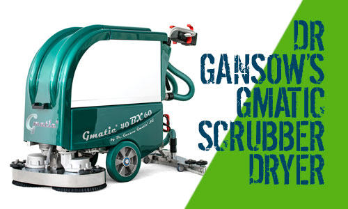 Dr Gansow Gmatic Scrubber Dryers 40BX60