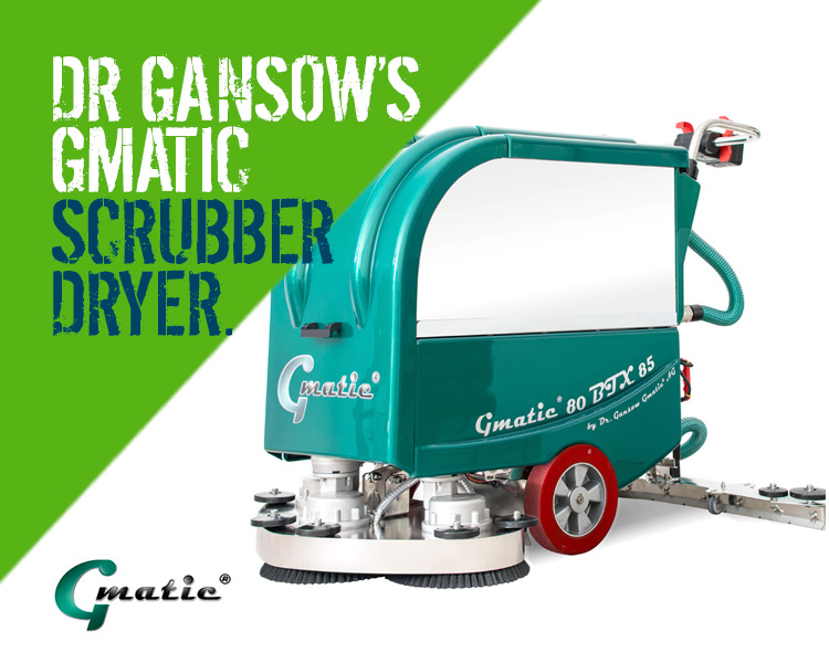 Dr Gansow Gmatic Scrubber Dryers 80BTX85
