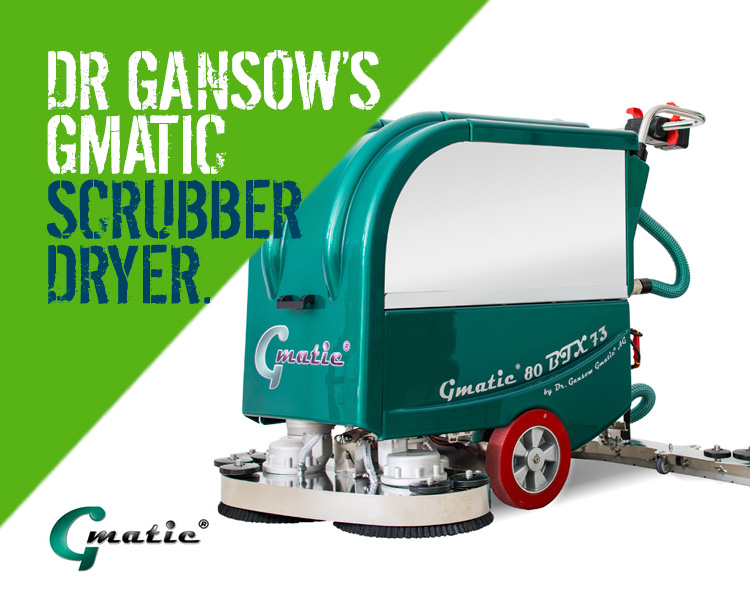 Dr Gansow Gmatic Scrubber Dryers 80BTX73
