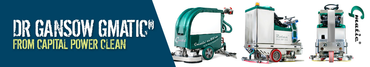 Dr Gansow Gmatic Scrubber Dryers